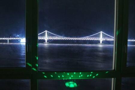 Seaside Ocean view (광안대교 고층 정면 뷰~♡) - Suyeong-gu - Apartemen