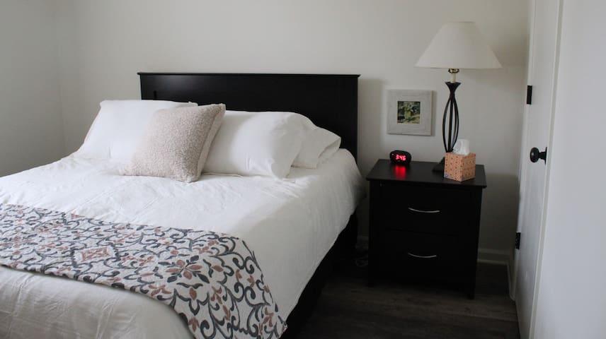 Bedroom #2, both beds Queen Size Memory Foam