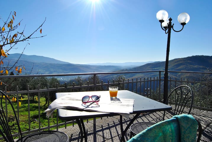 Contadino, appartamento in Villa nel Chianti