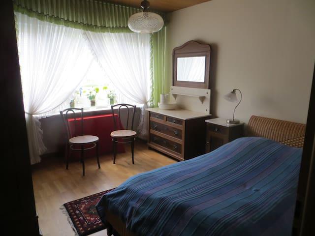 Sonnige Wohnung mit viel Platz im und ums Haus - Hoppstädten-Weiersbach - อพาร์ทเมนท์