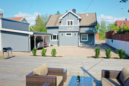 Charming villa central Sarpsborg, 60 min to Oslo