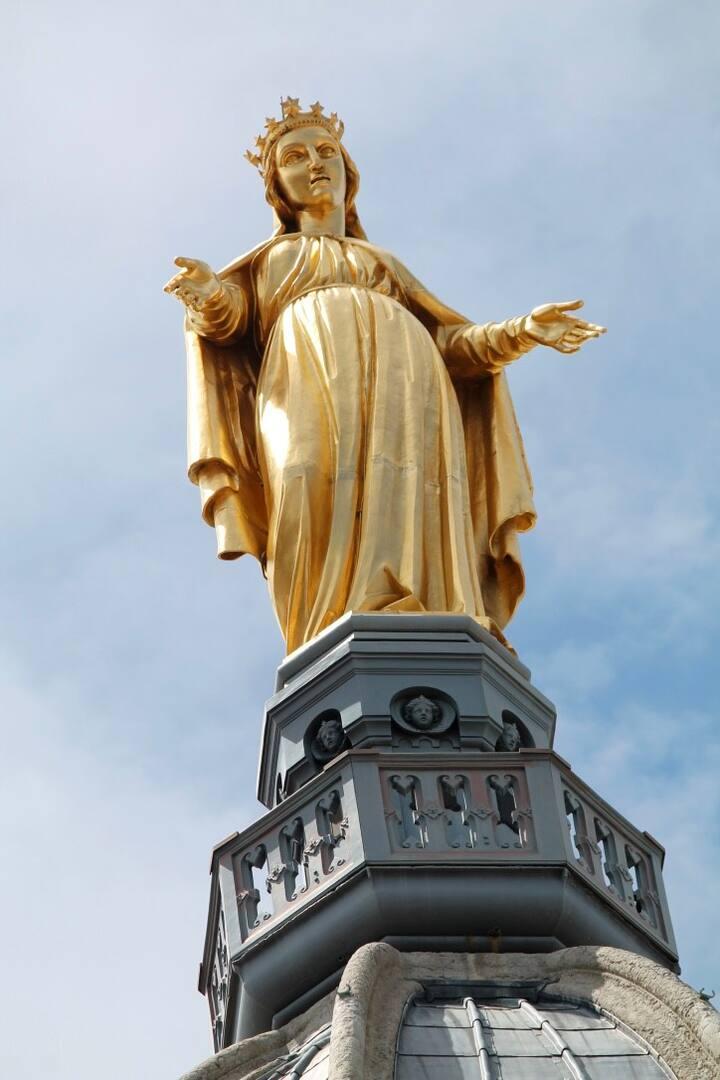 La vierge dorée de Fourvière