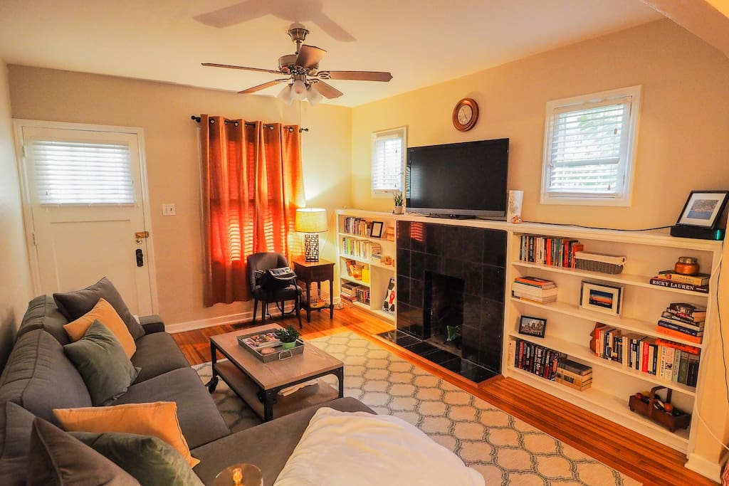 Live like a local in our sundrenched, private living room
