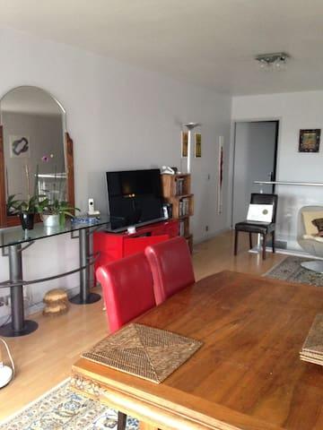 Chambre cosy proche de Paris/Orly avec jardin p/2.
