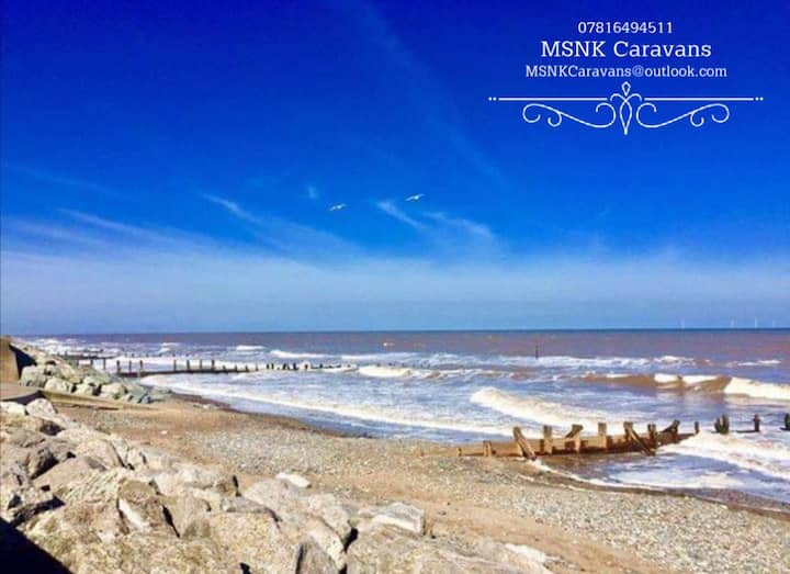 Withernsea Caravan -Home away from home (8 guests)