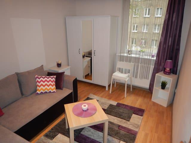 Przytulny pokój na Wałach Chrobrego (City Center) - Szczecin