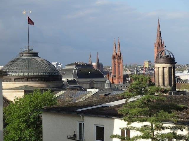Apartment with stunning view on Wiesbaden - Wiesbaden - Apartment