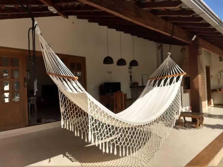 Casa espaçosa, tranquila e aconchegante