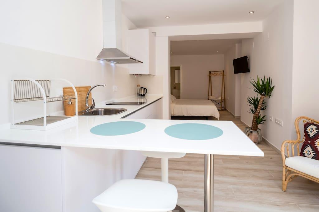 Cocina - Dormitorio