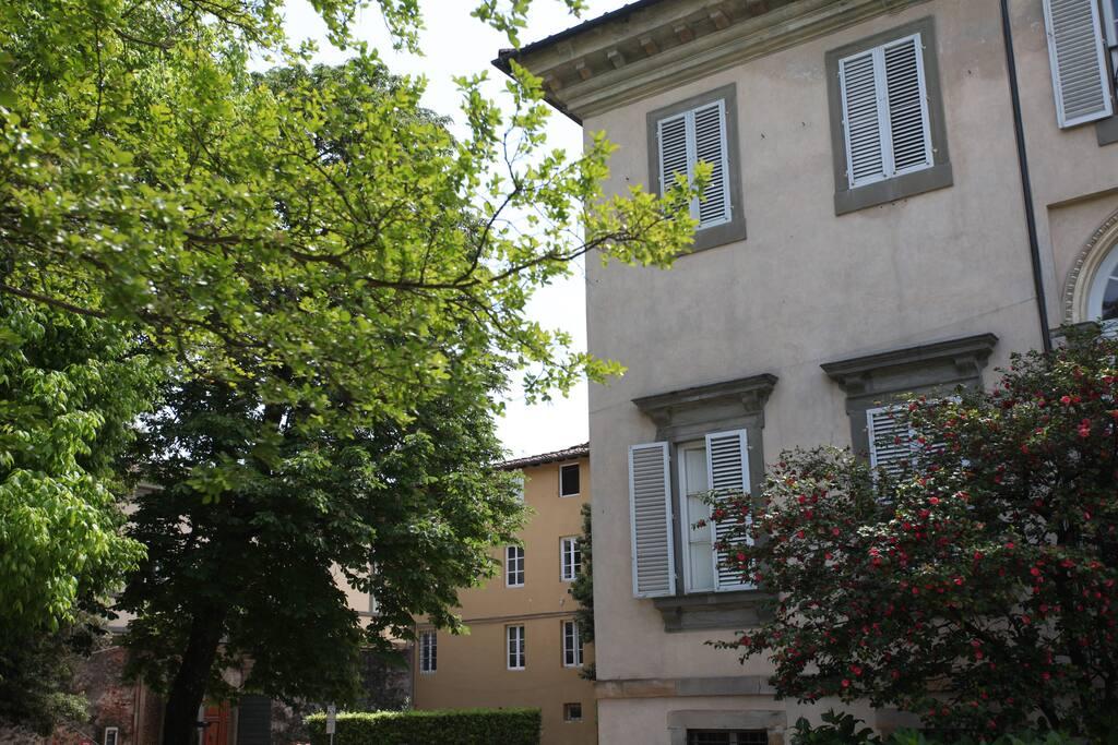 Vista appartamento adiacente Villa Bottini