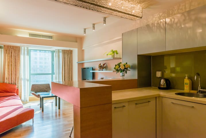 Seasons Park 1 bedroom apartment (Dongzhimen) #01