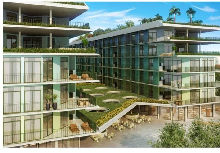 Apartamento inteiro em Ubatuba, condomínio DNA