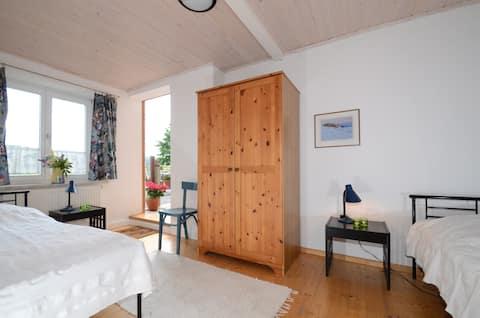 Comfortable apartment in natural surroundings