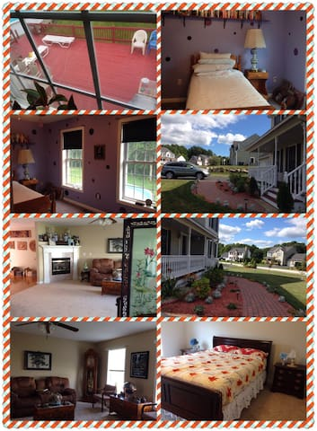 3 Floors/4 Bedrooms 3.5 Bathrooms - Hooksett