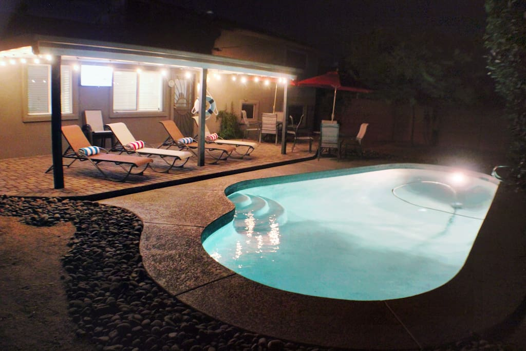 Private Pool, Desert Oasis Paradise in Old Town Scottsdale.  Entertainment Hub.