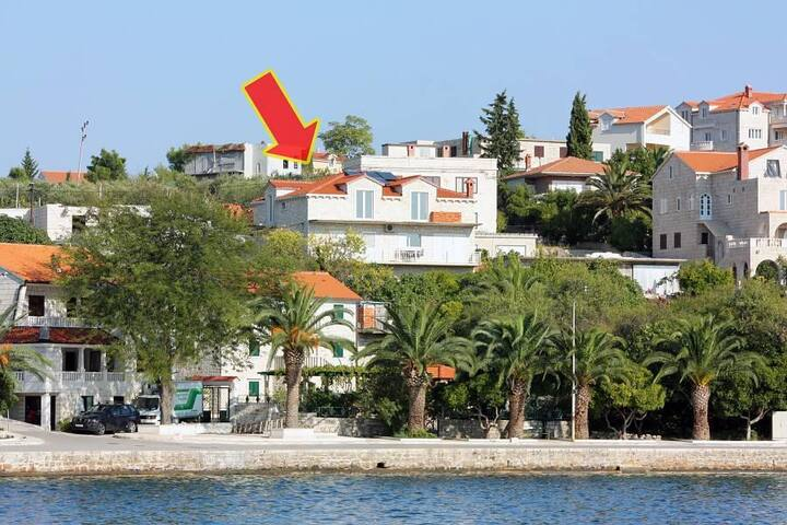 Studio flat with balcony and sea view Sumartin, Brač (AS-5620-b) - Sumartin