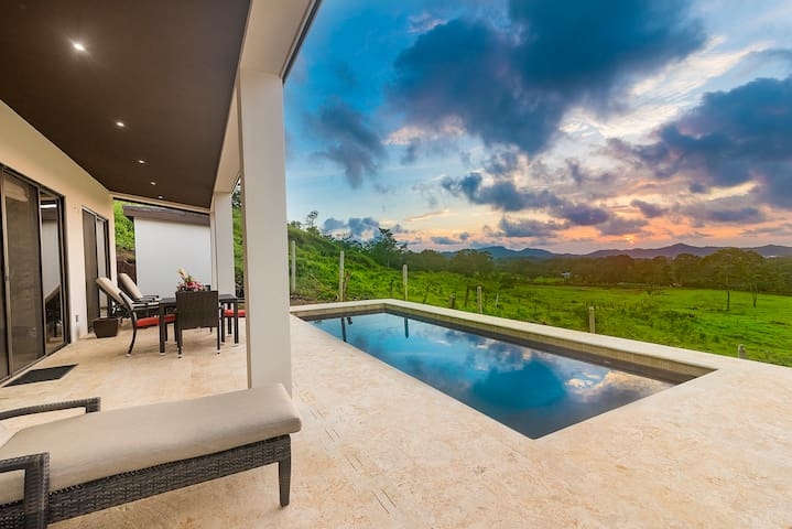Casa Oasis--BRAND NEW Ocean View Home on 1/2 Acre!