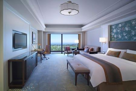 海口香格里拉大酒店豪华海景房 - Haikou - Appartement