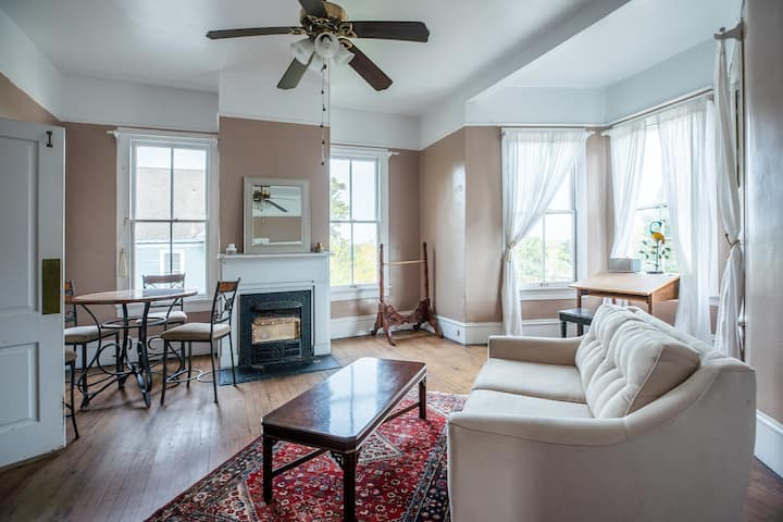 Spacious, Historic, Downtown Private 2/1 Apt