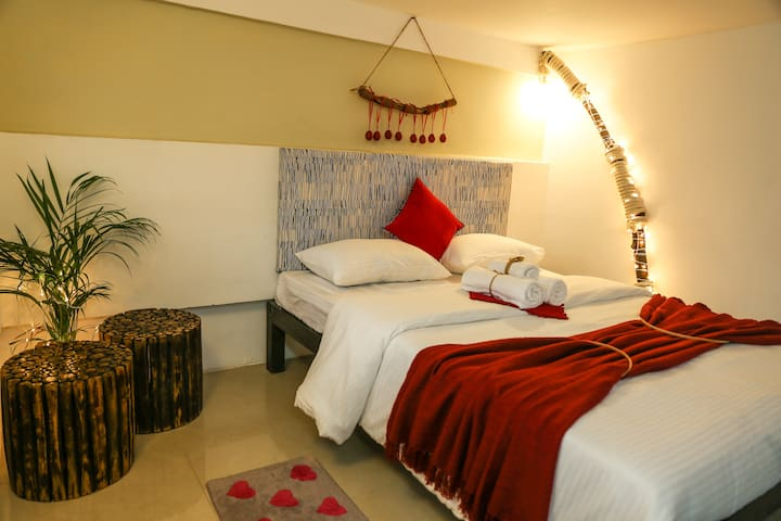 The sky loft boutique room 005- Candolim