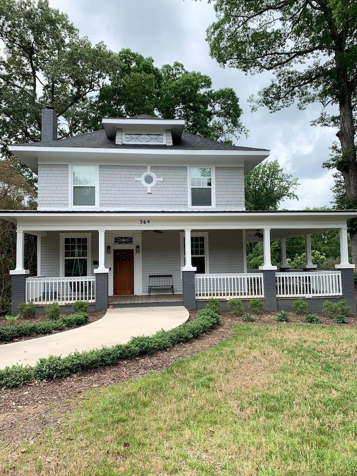 Historic Spartanburg home near Converse College