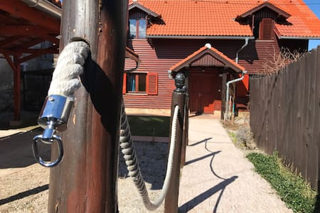 House ''Emayan'' near Fuzine for relaxing holiday - Fužine - 独立屋
