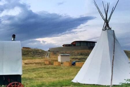 Native Teepee #2 / CowboyBreakfast