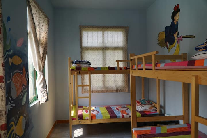 CANG ZANG Time Youth House,room for 4 girls