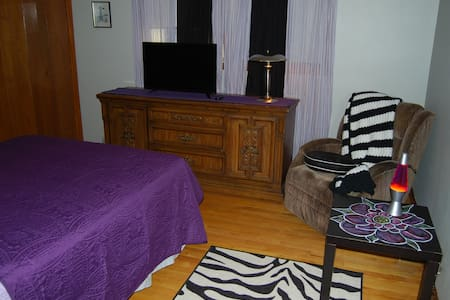 Cozy Private Room by O'Hare ORD/ Rosemont Expo - Schiller Park - Appartement