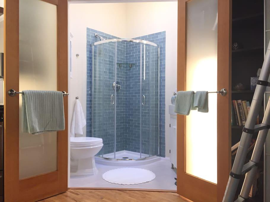 Beautiful Tile Shower