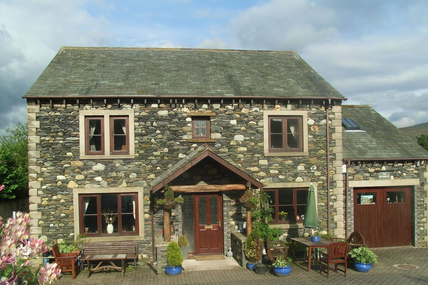 The Brambles bed and breakfast photo of main house annex is a separate building. Free wi fi provided in all rooms