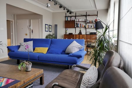 Cozy double room in stunning apartment in Flagey! - Ixelles - Apartment