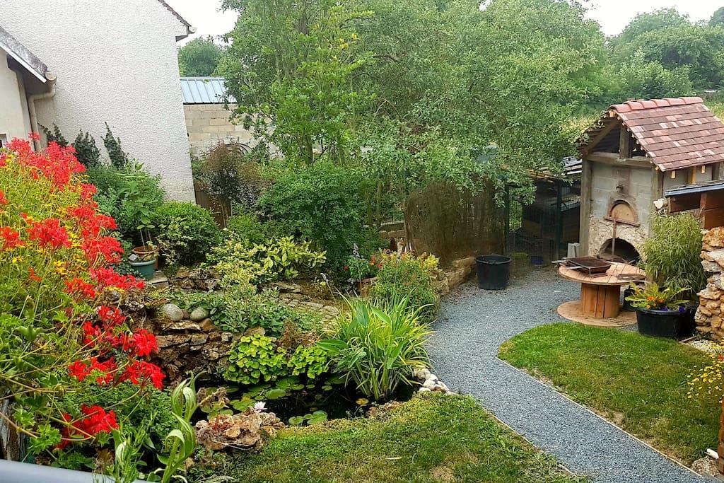 Accès jardin arrière