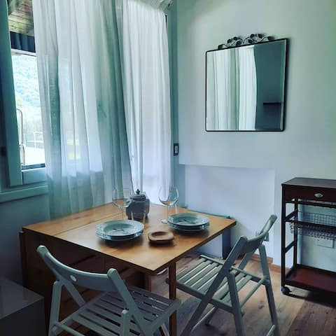 appartamento Elisa, Sulzano,residence con piscina