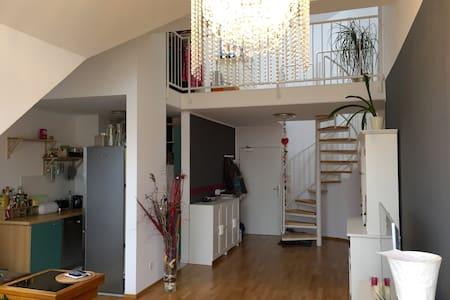Galleriewohnung - Zentrumsnah und ruhig gelegen - Nürnberg - Apartment