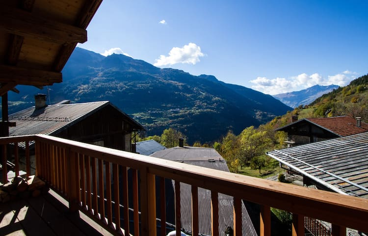 Breathe in the stunning mountain air from the open plan living area balcony