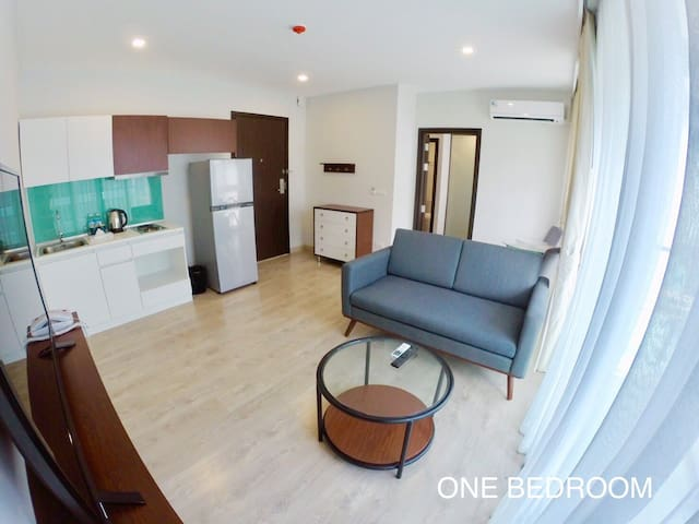 One bedroom with two beds near Phuket Airport