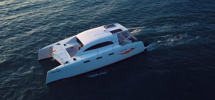 Power Catamaran for comfortable, cruising Phuket