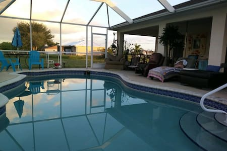 *New* 3 Beds 2 baths home with caged Pool