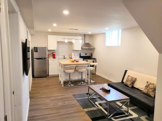 Brand New Cozy Apartment,Private Bath and Kitchen!