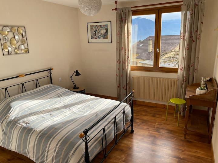 Chambre chez l'habitant : chambre Belledonnes