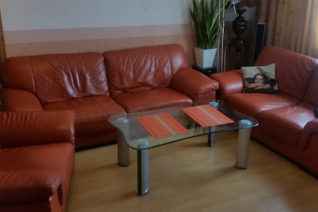 4 room flat in 15 min from Old Riga - Рига