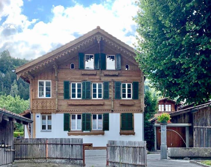 Wohnung auf 2 Stockwerke mit Aussicht auf Jungfrau