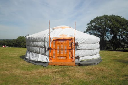 Séjour en yourte à la ferme - VAUDREVILLE