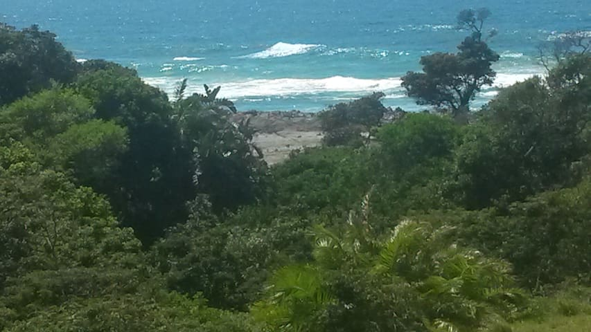View from front patio, 30 meters from beach