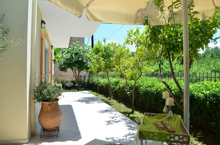 Family Vacation house at Pefki 130m from the beach
