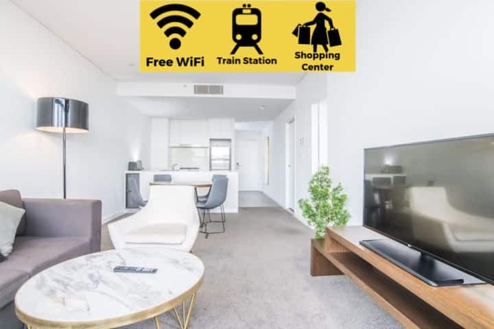 Corporate travel 1bed 1study room Apt At Chatswood