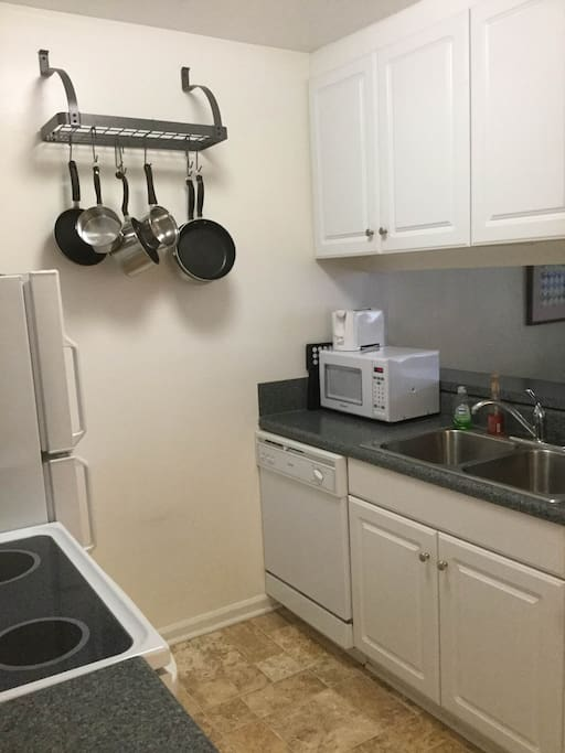 Well equipped kitchen allows you to cook beyond the basics