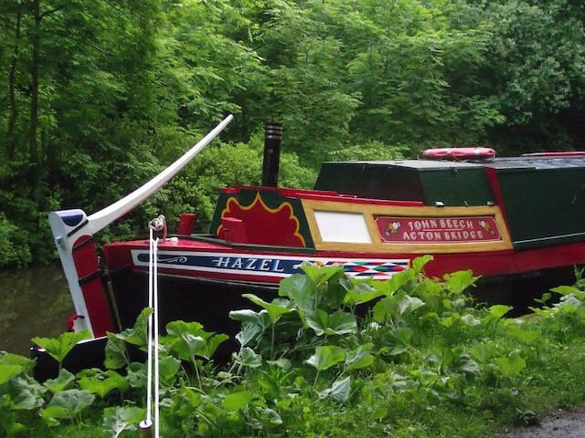 """Hazel"" at Macclesfield - Macclesfield - Boat"