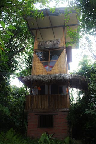 The Bird Tower, Nature lovers dream!
